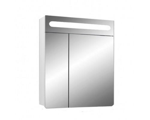 Шкаф зеркальный Гласс 60,белый
